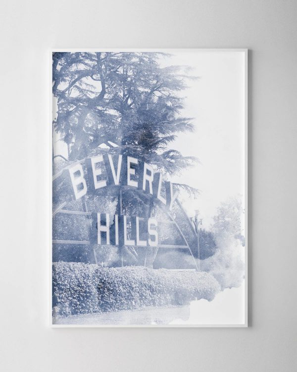 Beverly Hills Watercolour Print